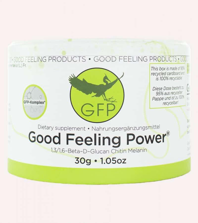 Good Feeling Power aus dem Zunderschwamm Einmal
